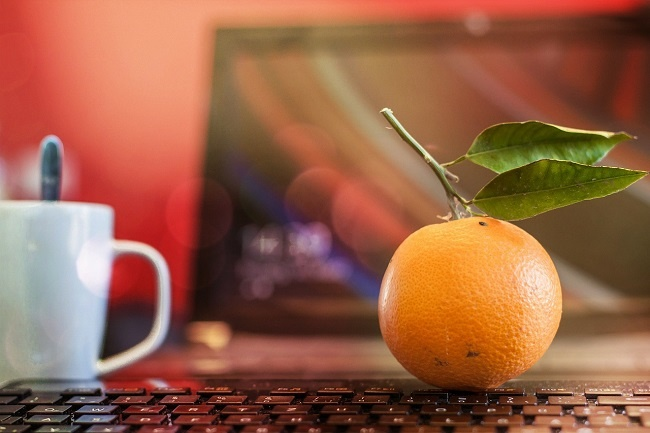 Free fruit promotes wellbeing in the workplace