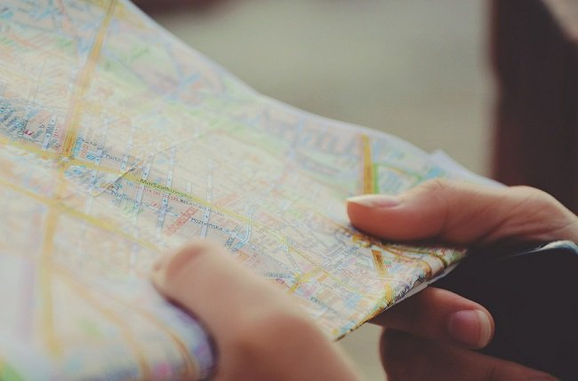 Road map for business journey