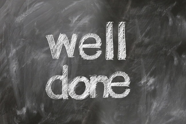 The two most important words you can use - and should use with frequency, as a leader - are 'well done'