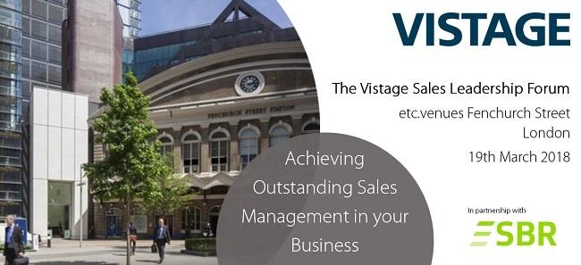 Vistage Sales Forum